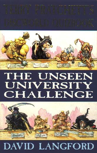 Unseen University Challenge -- 1st ed cover