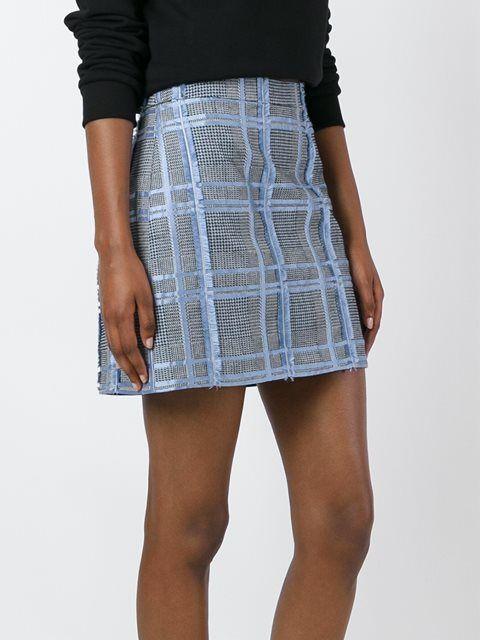 Versace жаккардовая юбка