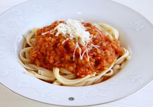 Vegetarisk pastasås | Jennys Matblogg | Bloglovin'