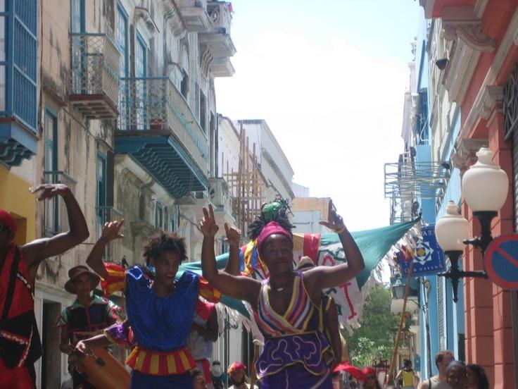 Celebrations in Havana