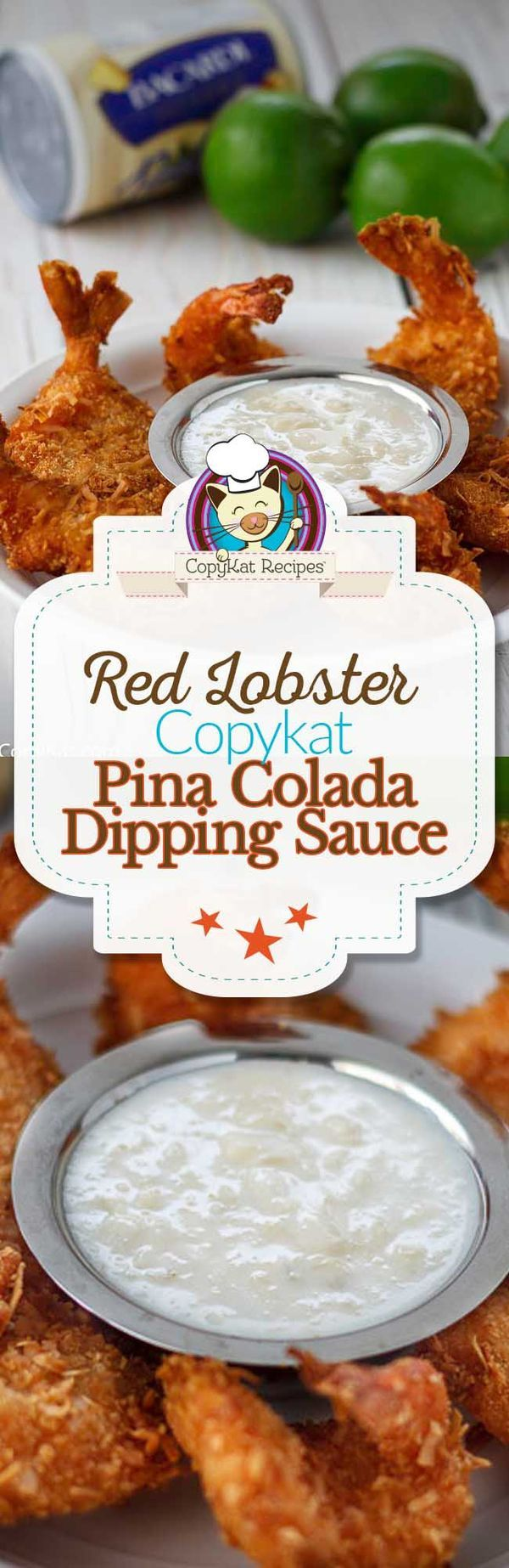 Love the Red Lobster restaurant?  Make their famous Pina Colada Dipping sauce at home with this easy copycat recipe.