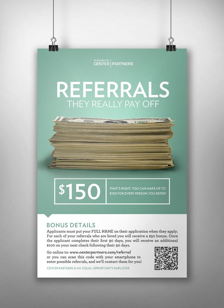 Best YMCA Marketing Ideas Images On Pinterest Marketing Ideas - Awesome employee referral program template concept