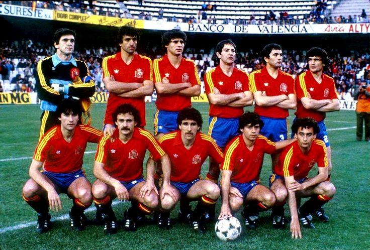 Equipos de fútbol: ESPAÑA Selección 1978-1982
