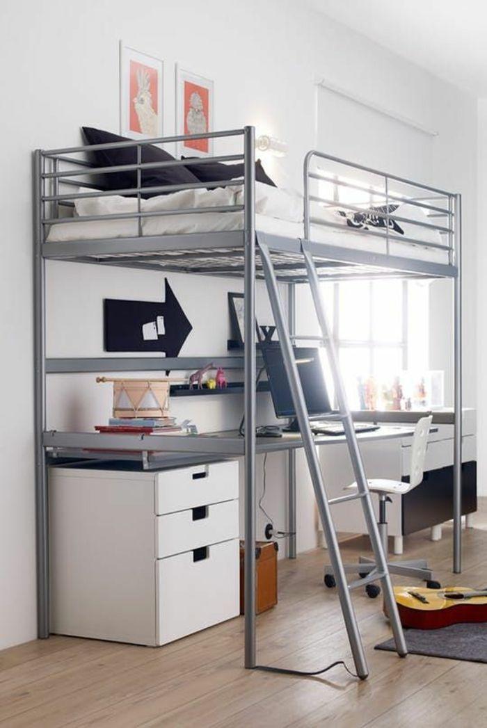 1001 + Idées de décoration de chambre d'étudiant + intérieurs originaux, peu encombrants #de …