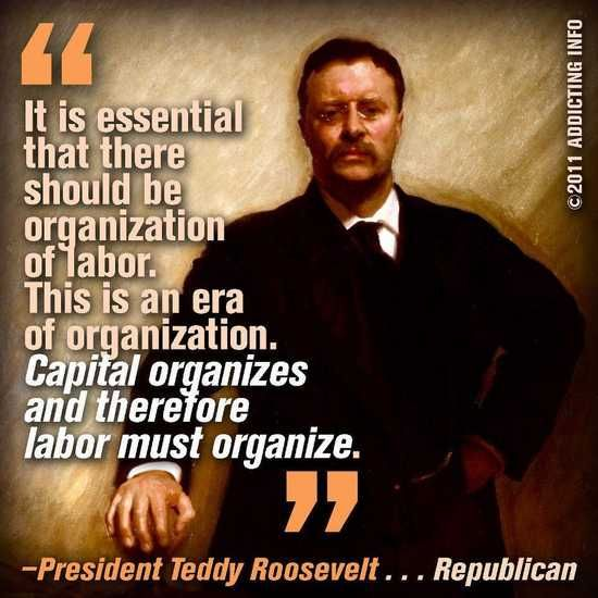 Republicans that made sense...Way Back When...President Teddy Roosevelt