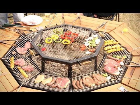 JAG GRILL BBQ TABLE - Get it on Amazon:  http://www.amazon.com/dp/B015MQEF2K - http://outdoors.tronnixx.com/uncategorized/jag-grill-bbq-table/