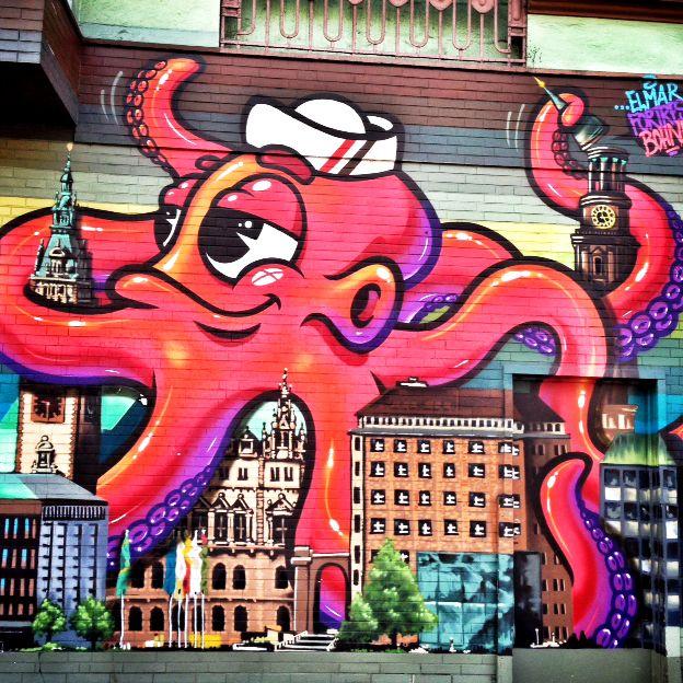 Street Art Tour durch St. Pauli