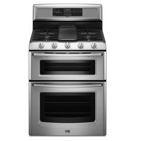 charming ideas double ovens lowes. Maytag 30 in 5 Burner Double Oven Convection Gas Range  Stainless Steel 32 best New Home Kitchen Appliances images on Pinterest