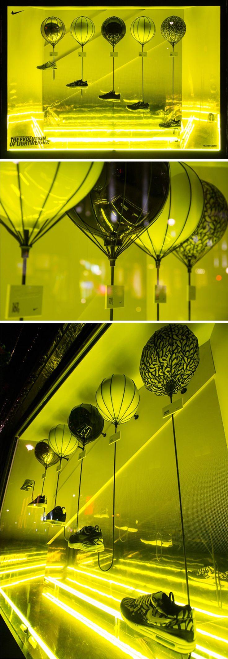 Nike x Liberty windows by Hotel Creative, London. retaildesignblog....