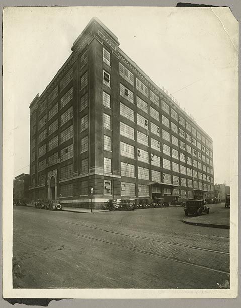 Industrial Building, 501 East Preston Street, Baltimore.