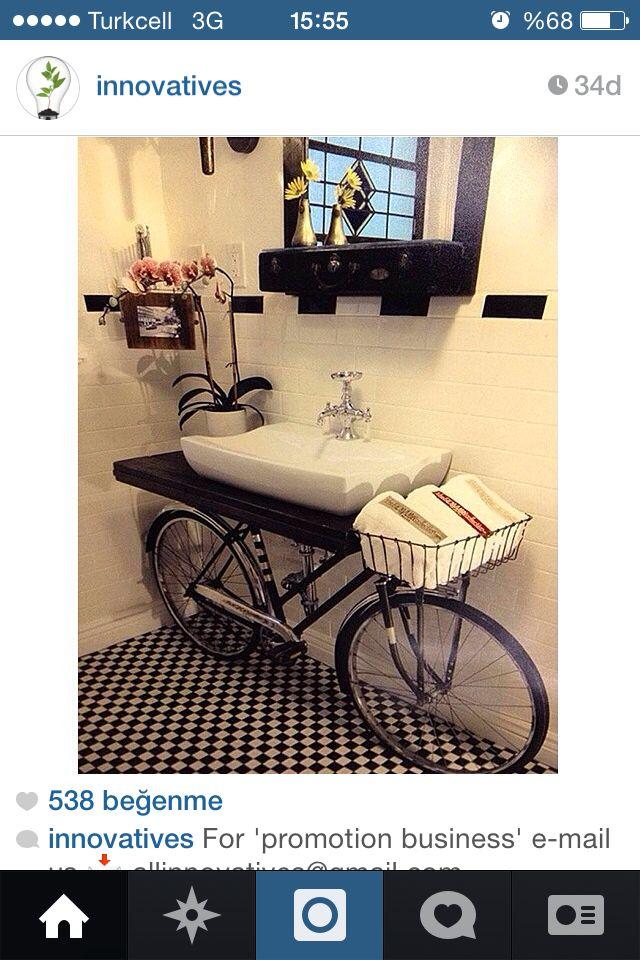 Bisiklet lavabo