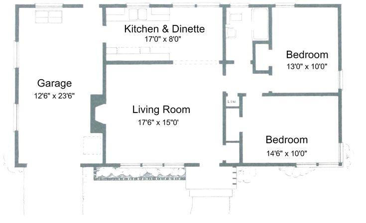 3 Bedroom Floor Plan Garage House Plans With Photos Three Bedroom House Plan Bedroom House Plans