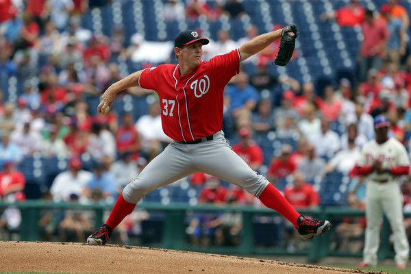 Stephen Strasburg Photos - Washington Nationals v Philadelphia Phillies - Game One - Zimbio