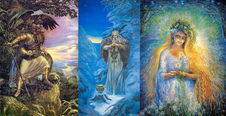 Славянская. мифология, сотворение мира, язычество