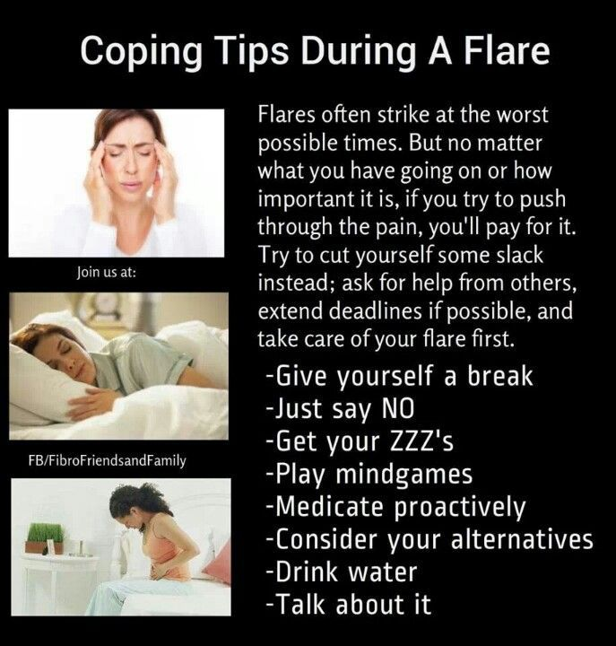 Dealing with a flare up can be excruciating mentally and physically.  This are great tips for coping! #fibromyalgia