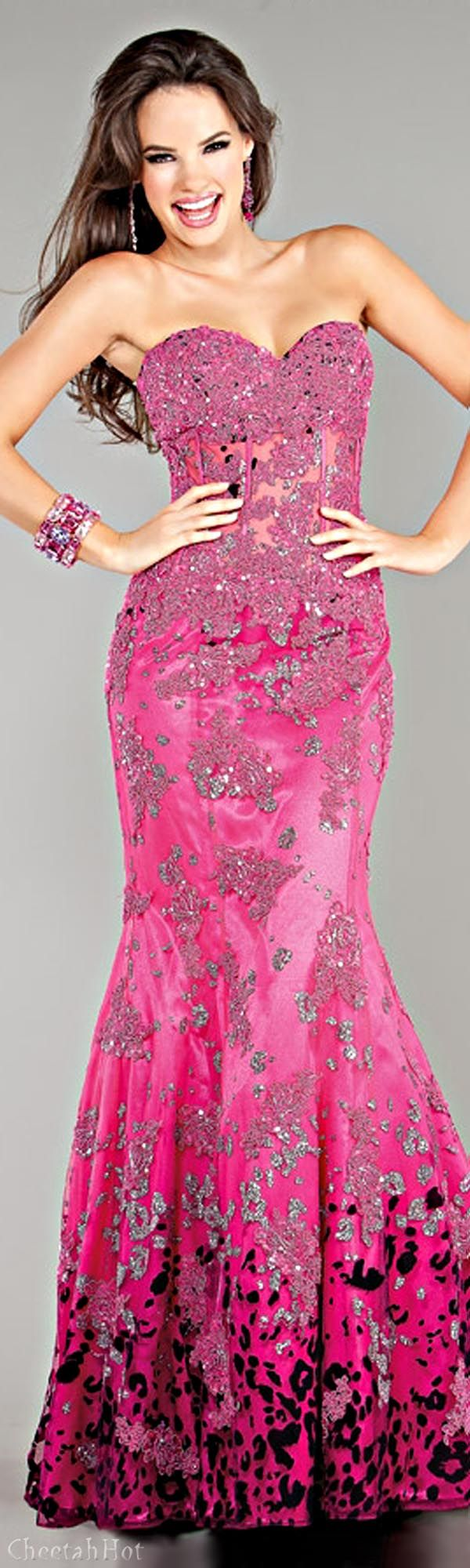 1000  ideas about Pink Evening Gowns on Pinterest - Black shoe ...