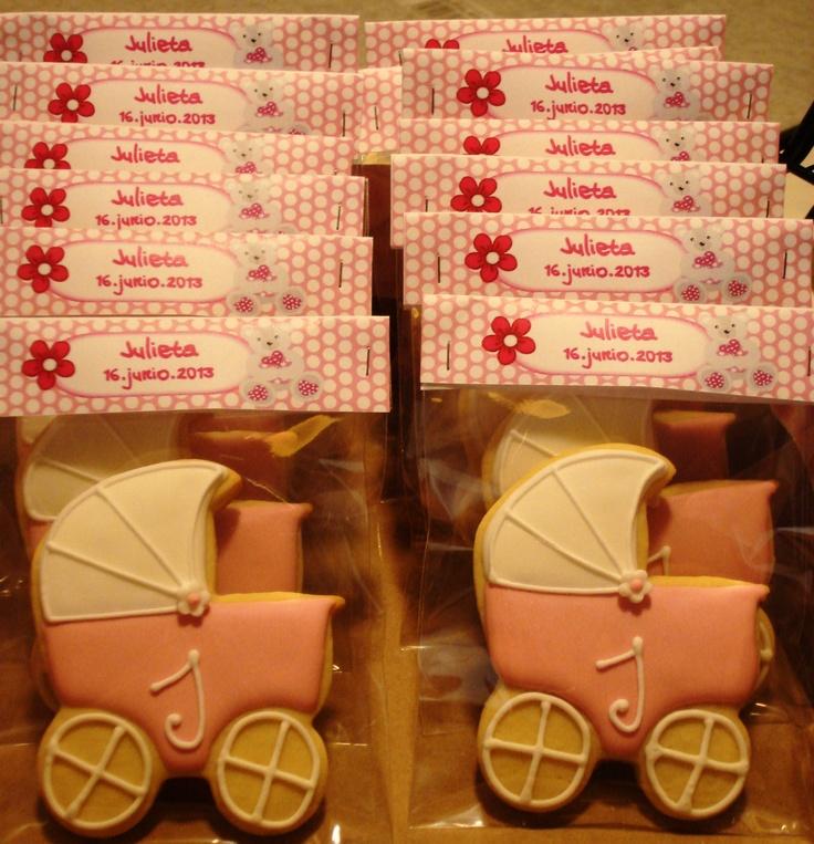 Galletas para bautizo / Baby shower cookies
