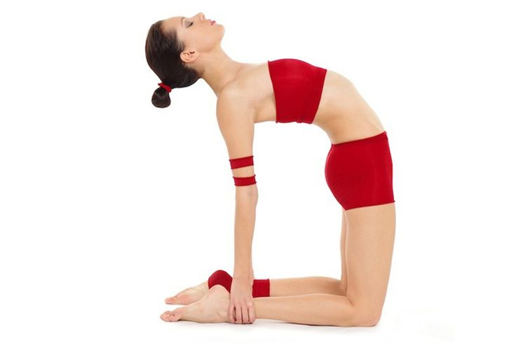 Ustrasana (Camel pose) can help prevent thyroid related problems.