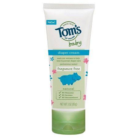 Tom's of Maine 3 oz Diaper Rash Treatment