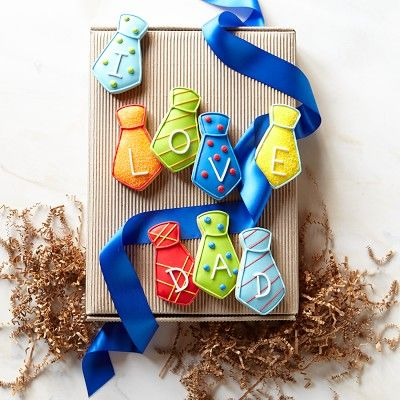 Father's Day Cookie Box