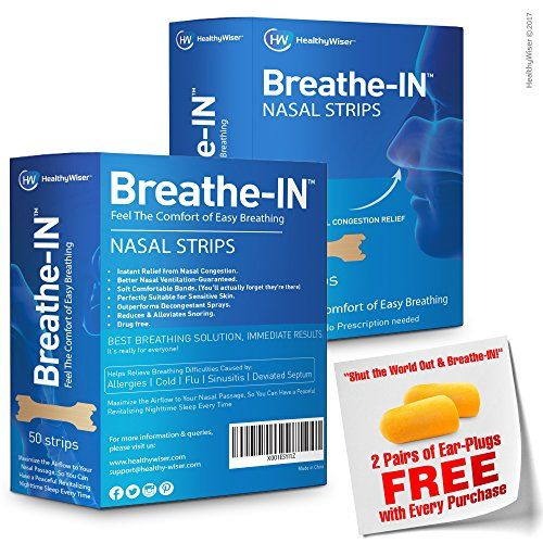 SLEEP LIKE A BABY & WAKE UP REFRESHED EVERY DAY! Smart,Soft & Comfortable! The Breathe-IN Nose Strips Will Make Your Life Easier! Looking for an easy and quick way to relieve nasal congestion?Need a convenient and chemical-free solution to your snoring issue? Want to sleep like a... - #Heaith #MentalHealth #Life #Fitness #Depression