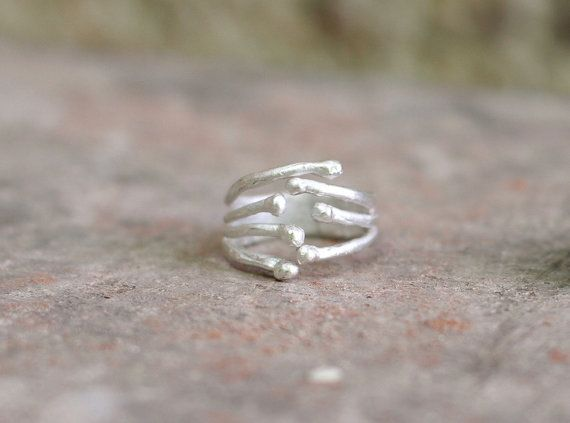 Handmade Ring. Adjustable Ring. Jewelry by Kairajewelry on Etsy
