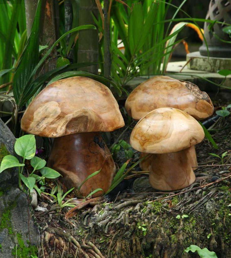 Lækre og super dekorative paddehatte- brug dem inde som ude. Sæt med 3 stk 675 kr  www.maisonmaison.dk