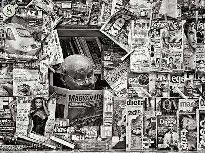 Digitale kiosk voor kranten en tijdschriften