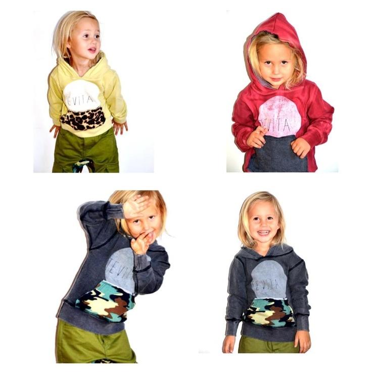 Kids winter style hoodies / Tevita clothing