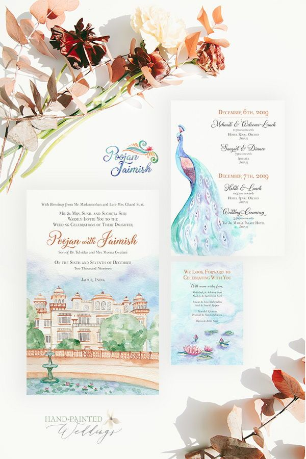 Getting Married In India This Destination Wedding Invitation Fea