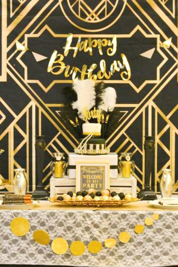Com 40th Birthday Party Decorating Ideas