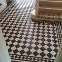 1a black white chequer
