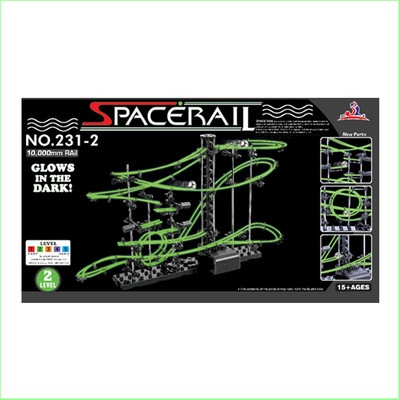Spacerail Glow in the Dark Level 2 Marble Race   Get those teens off their screens