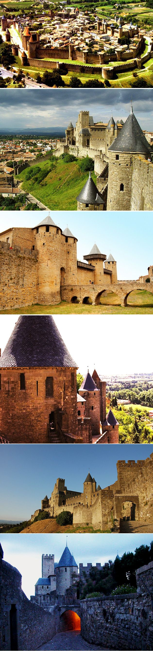 Carcassonne - Castles you must visit with your children because it will set their imagination flying