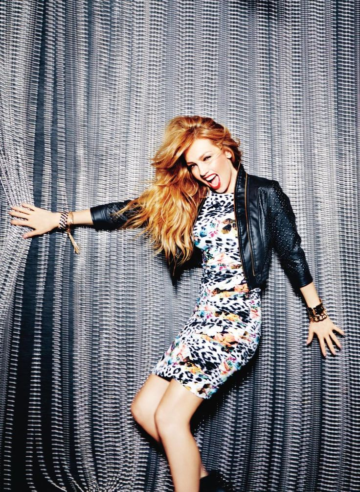 We love Thalia's rockstar attitude