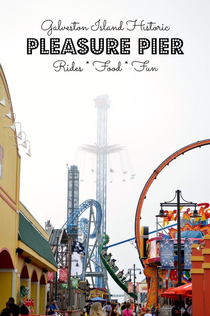 Galveston Island Pleasure Pier: Affordable Family Fun
