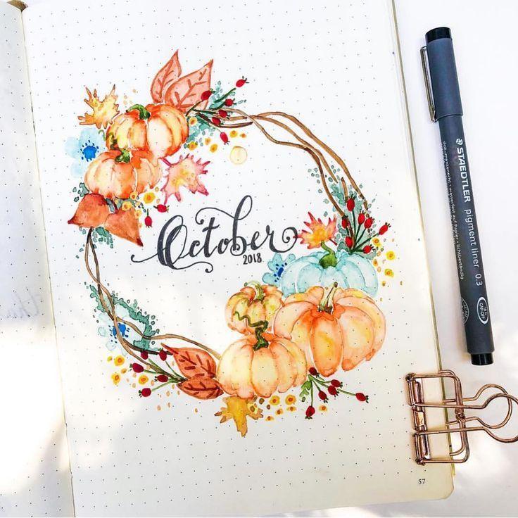 """bullet journal inspiration. 🌱 auf Instagram: """"Ich kann nicht darüber hinwegkommen, wie wunderbar"""