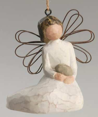 """Willow Tree, """"Angel of Protection"""" ornament... """"For those who watch over with love and care"""""""