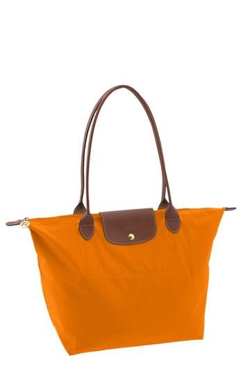 orange longchamp