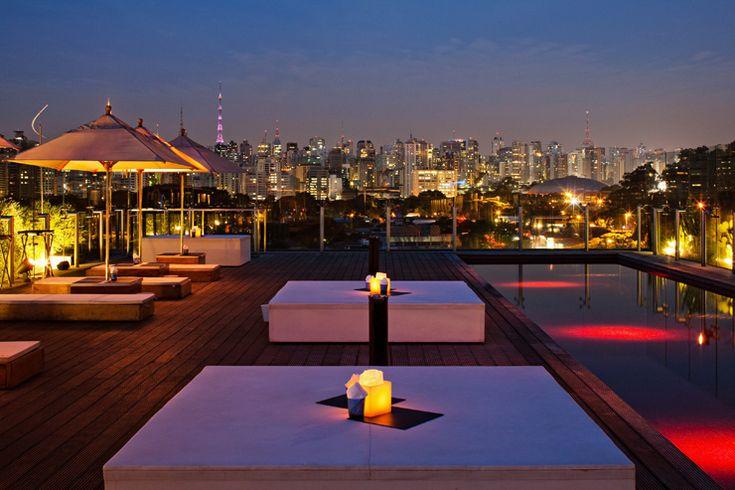 Hotel Unique em São Paulo | #lifestyle #brasil #arquitetura