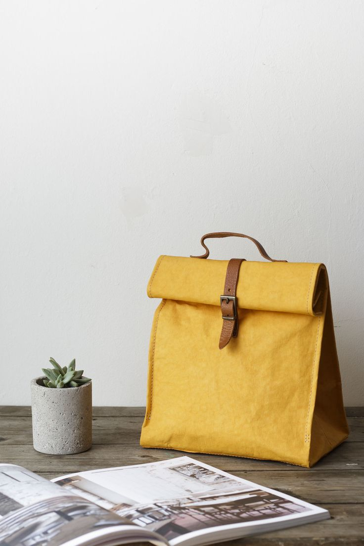 A unique and stylish women's lunch bag, the perfect accessory for the lady who lunches, or a man not afraid to rock the 'man bag'.