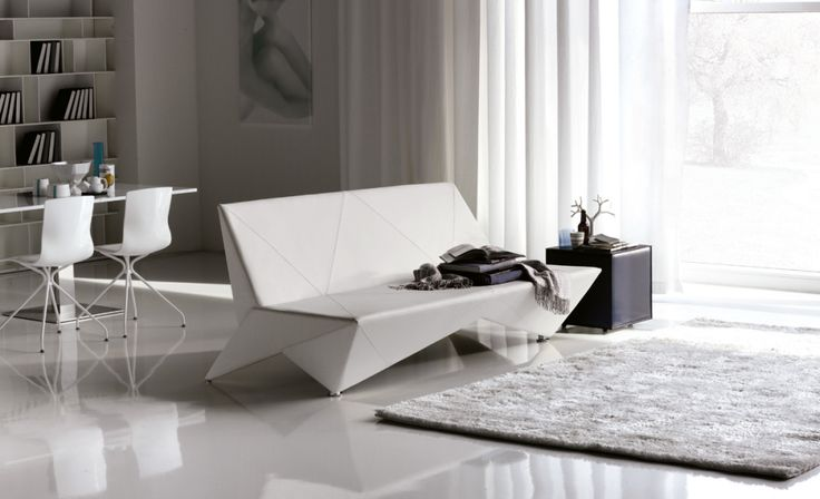 Sofa z origami ;) #sofa #origami #modern #italianstyle