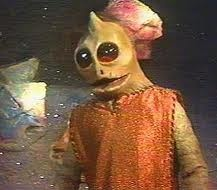 sleestak-from Land if the lost tv show. Loved it. These guys really creeped me out.