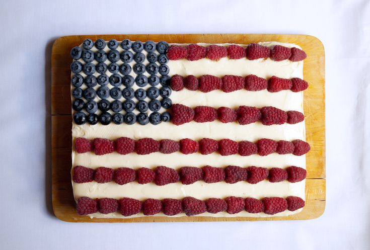 Ciasto flaga amerykańska