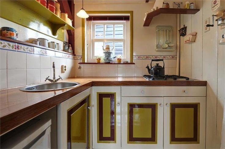 Meer dan 1000 afbeeldingen over kleine keukens op pinterest kleine huis keukens lades en opslag for Kleine keukens fotos