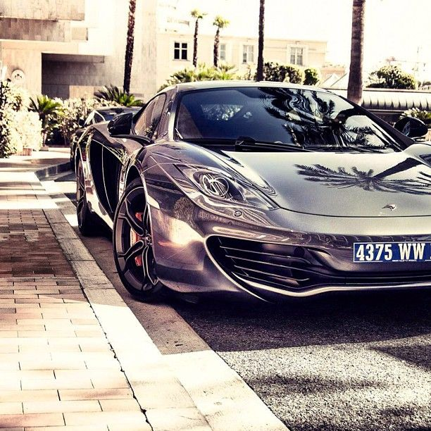 I can drive on the city road or a private one, it makes no difference to my wheels - Chrome McLaren MP4 12C
