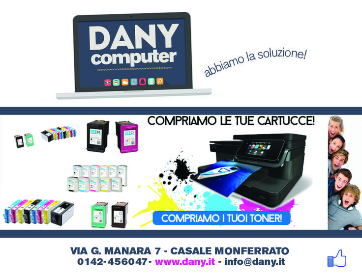 Acquistiamo toner e cartucce obsolete  inviare lista a : ordini@dany.it per ricevere una ns offerta!  send the list to email : ordini@dany.it to receive our offer! We buy toner cartridges and old or unused, surplus inventory,