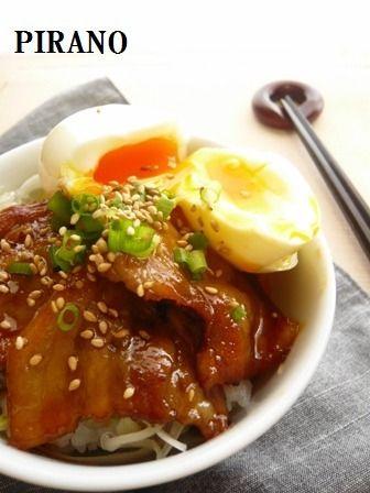 439kcal】即席♪豚バラ角煮丼♪ by Nobukoさん | レシピブログ - 料理 ...