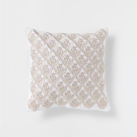 Decorative Pillows With States : EMBROIDERED LINEN PILLOW - Decorative Pillows - Decor and pillows Zara Home United States ...