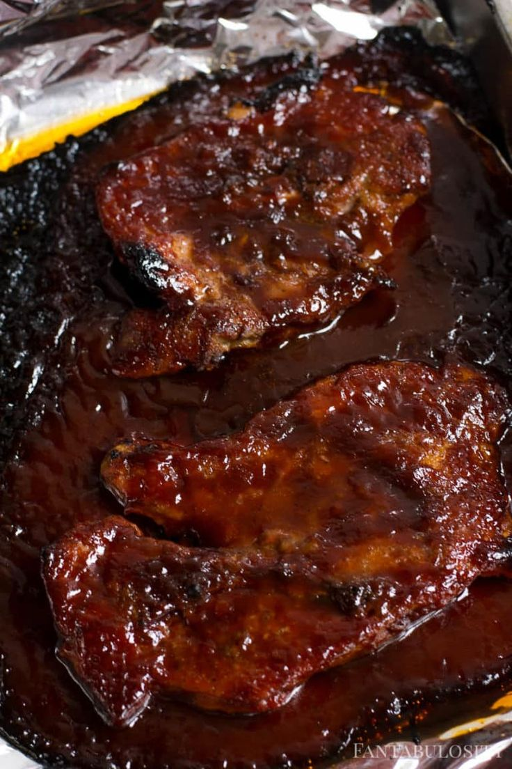 Baked bbq pork steak recipe in the oven fantabulosity